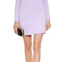 Emilio Pucci - Wool Embellished Sheer Panel Dress