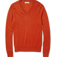 PRODUCT - Burberry London - Cashmere V-Neck Sweater - 360931 | MR PORTER