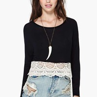Del Carmen Crop Top