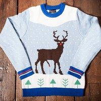 RED ROCKET RUDOLPH CHRISTMAS JUMPER
