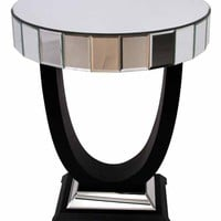 Romano Mirrored Side Table | Sweetpea & Willow