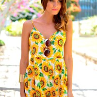 SUNNY VACATION PLAYSUIT