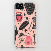 Whole Lotta Horror iPhone & iPod Case by Josh Ln