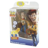 Toy Story Talk and Glow Deluxe Woody Figure