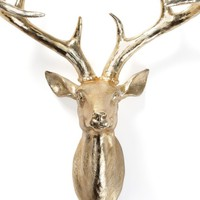 "Deer Head - 17.75""H 