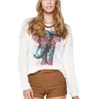 ELEPHANT GRAPHIC TOP