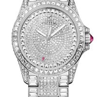 Juicy Couture 'Stella' Crystal Encrusted Watch, 40mm | Nordstrom
