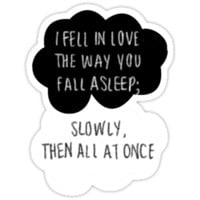 I Fell in Love the Way You Fall Asleep