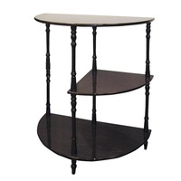 Home Decorators Collection 3-Tier Composite Accent Table in Cherry-JW-125 at The Home Depot