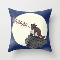 Sheep In Wolves' Clothing Throw Pillow by Nita XX