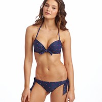 EMMA SHINE DOT PUSHUP BIKINI TOP