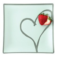 "arango - plates with purpose - heart 14"" plate"