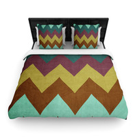 "Catherine McDonald ""Mountain High"" Art Object Fleece Duvet Cover - 30% off sale!!!"