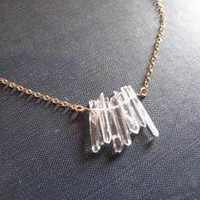 Georgia Varidakis Jewelry ? Crystal Clear Necklace