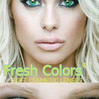 Aqua Contact Lenses by Fresh Colors