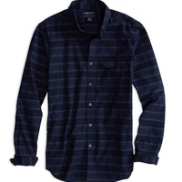 AE STRIPED HERITAGE FLANNEL