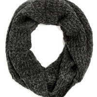 Element Eden Marsalle Dark Grey Circle Scarf