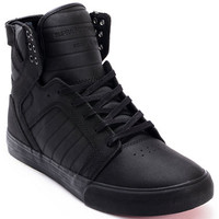 Supra Skytop Red Carpet Edition Muska Tuf Black Skate Shoe