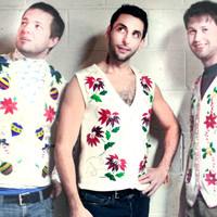 Plaid Poinsettia Tacky Ugly Christmas Sweater Vest