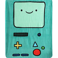 Adventure Time BMO Micro Raschel Throw