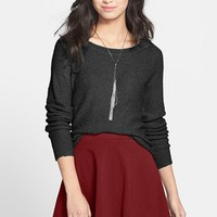 Lily White Skater Skirt (Juniors) | Nordstrom