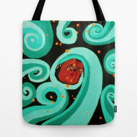 Ocean Soul Tote Bag by DuckyB (Brandi)