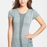 Nike Dri-FIT Seamless Knit Short Sleeve Tee | Nordstrom