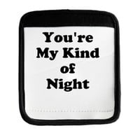 Youre My Kind of Night Luggage Handle