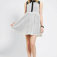 Bitching & Junkfood Valentina Lace Babydoll Dress - Urban Outfitters