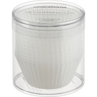 Set of 12 Clear Silicone Baking Cups