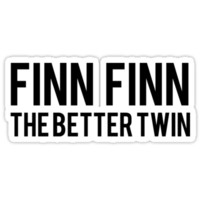 Finn Finn - The Better Twin Unisex T-Shirt