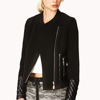 Posh Paneled Jacket
