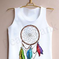 Dreamcatcher - Tank Top , Tank , Cute Tank Top , Dreamcatcher Tank Top