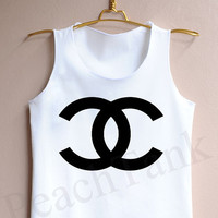 Channel coco - Tank Top , Tank , Cute Tank Top , Channel coco Tank Top , Channel coco Tank
