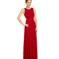 B. Darlin Cut-Out Beaded Gown | Dillard's Mobile