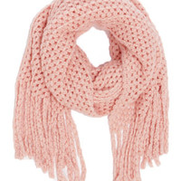 In the Pastel Pink Scarf