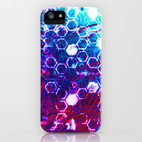 honeycomb effect iPhone & iPod Case by seb mcnulty