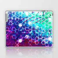 honeycomb effect Laptop & iPad Skin by seb mcnulty