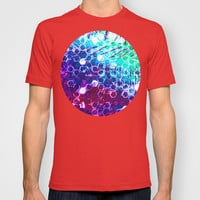 honeycomb effect T-shirt by seb mcnulty
