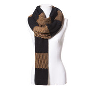 LONG NARROW SCARF WITH STRIPES