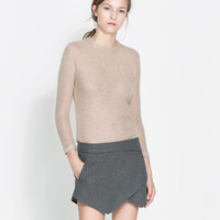 SWEATER WITH THREE QUARTER LENGTH SLEEVE