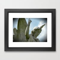 Angel of Sorrow Framed Art Print by Rainey's View