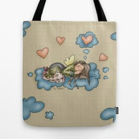 Angel Tote Bag by Carina Povarchik