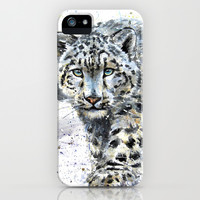 snow leopard iPhone & iPod Case by KOSTART