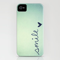 s m i l e iPhone & iPod Case by Rubybirdie