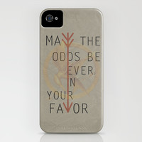 The Hunger Games Poster 02 iPhone & iPod Case by Misery
