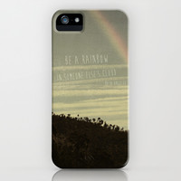 be a rainbow in someone else's cloud iPhone & iPod Case by ingz