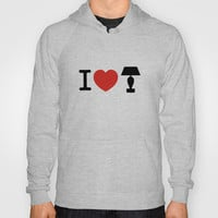 I LOVE LAMP Hoody by John Medbury (LAZY J Studios)