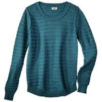 Mossimo Supply Co. Juniors Textured Crewneck Sweater - Assorted Colors