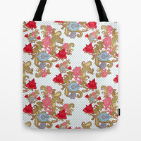 FLORAL Tote Bag by Madisyn Nicole